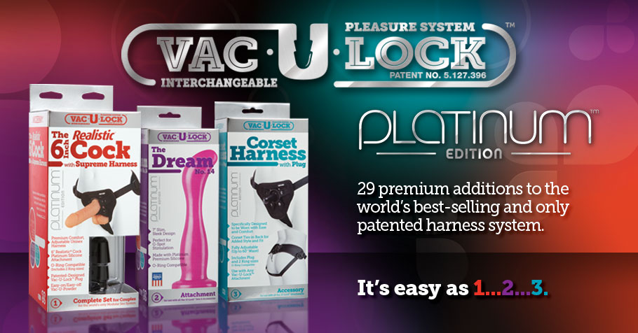 NEW • Vac-U-Lock PLATINUM