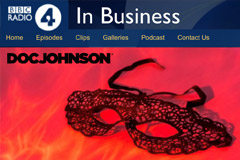 Doc Johnson Featured on BBC Radio
