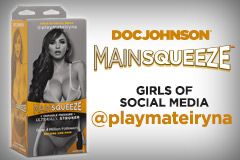 Doc Johnson's New Main Squeeze™ – @playmateiryna is Now Shipping