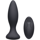 A-Play - Vibe - Beginner - Rechargeable Silicone Anal Plug with Remote - Black