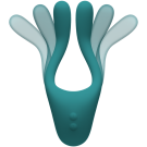 TRYST™ v2 Bendable Multi Erogenous Zone Massager with Remote - Teal